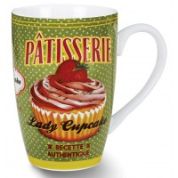 Mug LADY CUPCAKE Natives déco rétro vintage