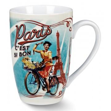 Mug PARIS PAULETTE Natives déco rétro vintage