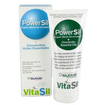 GEL POWERSIL SILICIUM BIO ACTIVÉ Huiles essentielles Chondroïtine Vitasil 225ml