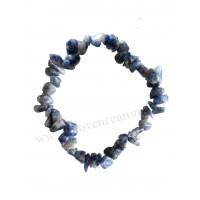 Bracelet en Sodalite pierre naturelle bracelet baroque pierres brutes