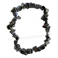 Bracelet en Hématite pierre naturelle collier baroque pierres brutes