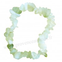 Bracelet en Jade pierre naturelle bracelet baroque pierres brutes