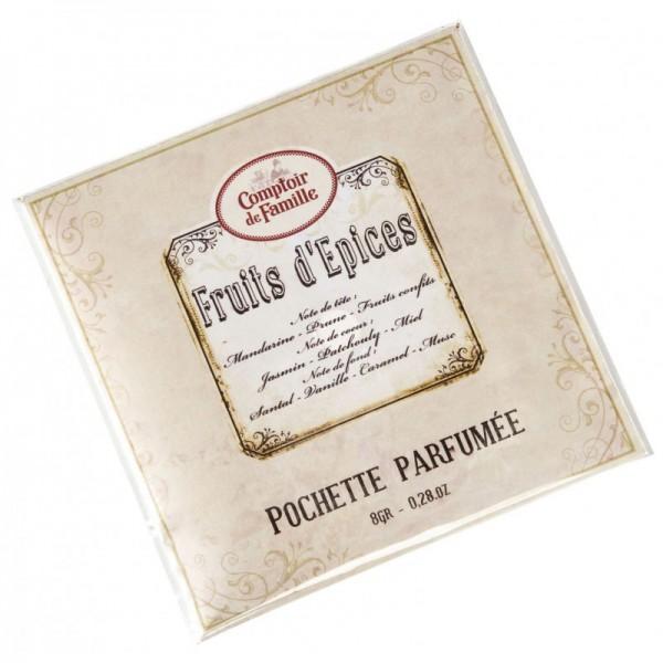 Pochette parfum e fruits d 39 pices comptoir de famille - Comptoir de famille salon de provence ...