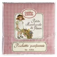 Pochette Parfumée Petite Marchande de Fleurs Comptoir de Famille