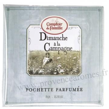 Pochette Parfumée Dimanche à la Campagne Comptoir de Famille