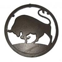 Dessous de plat TAUREAU en fonte