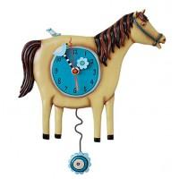 Horloge Cheval à balancier déco vintage Allen designs
