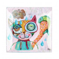 Coupelle en verre CHAT ALLEN DESIGNS