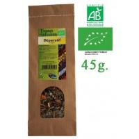 Tisane Dépuratif Cutané mélange de plantes Bio Phytofrance 45g