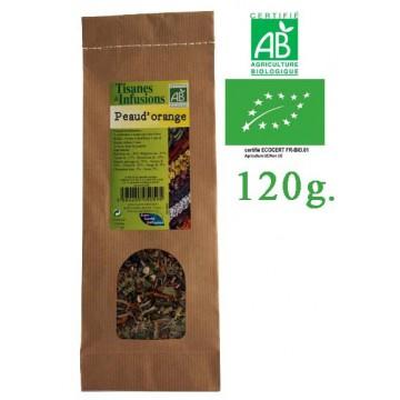 Tisane Peau d'orange Cellulite mélange de plantes Bio Phytofrance 120g