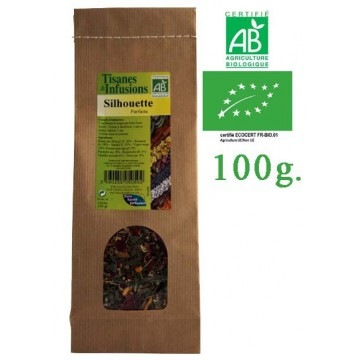 Tisane Silhouette Parfaite mélange de plantes Bio Phytofrance 100g