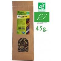 Tisane Circulation Détendue mélange de plantes Bio Phytofrance 45g