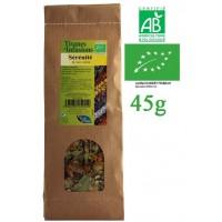 Tisane Sérénité Nuit Calme mélange de plantes Bio Phytofrance 45g