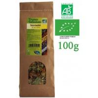 Tisane Sérénité Nuit Calme mélange de plantes Bio Phytofrance 100g