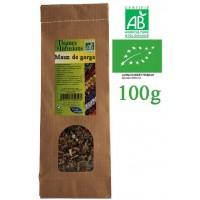 Tisane Maux de gorge mélange de plantes Bio Phytofrance 100g