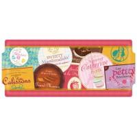 Plat à cake Étiquettes gourmandes collection Bonbons, chocolats et gourmandises