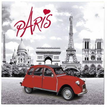 dessous de plat paris 2cv deux chevaux d co r tro vintage provence ar mes tendance sud. Black Bedroom Furniture Sets. Home Design Ideas