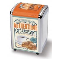 Distributeur de serviettes CAFÉ-CROISSANT Natives déco rétro vintage