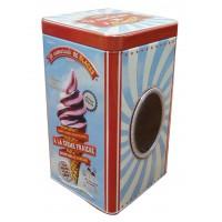 Boîte à biscuits ou bonbons CAMARADE DE GLACES Natives déco rétro vintage