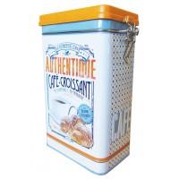 Boîte à café CAFÉ-CROISSANT Natives déco rétro vintage