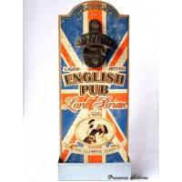 """Décapsuleur """"English Pub Lord Brian"""" Natives déco rétro vintage"""