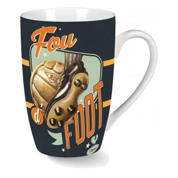 Mug FOU D' FOOT Natives déco rétro vintage