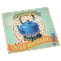 Dessous de plat CHAUD BOUILLANT Natives déco rétro vintage