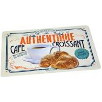 Set de table CAFÉ-CROISSANT Natives déco rétro vintage