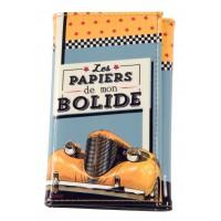 Protège papiers de Voiture BOLIDE Natives déco rétro vintage
