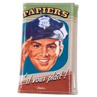 Protège papiers de Voiture PAPIERS SVP Natives déco rétro vintage