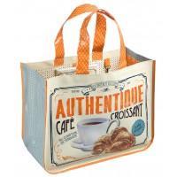 Sac Cabas CAFÉ-CROISSANT Natives déco rétro vintage