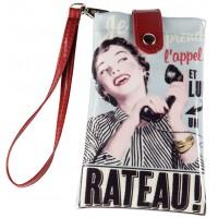 Housse de portable RATEAU Natives déco rétro vintage humoristique