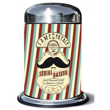 Poubelle de salle de bain barbier natives d co r tro for Poubelle salle de bain retro