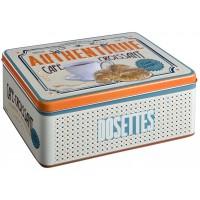 Boîte à dosettes CAFÉ-CROISSANT Natives déco rétro vintage