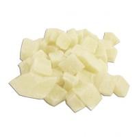 Noix de coco coupé cube