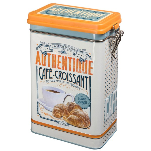 Bo Te Caf Caf Croissant Natives D Co R Tro Vintage