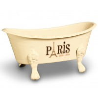 Porte savon baignoire ancienne PARIS Natives déco rétro vintage