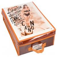 Boîte à lingerie FEMME CANON Natives déco rétro vintage humoristique