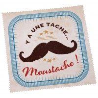 Chiffonnette MOUSTACHE Natives déco rétro vintage