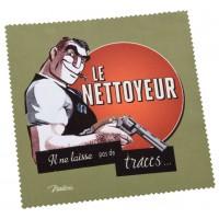 Chiffonnette LE NETTOYEUR Natives déco rétro vintage humoristique