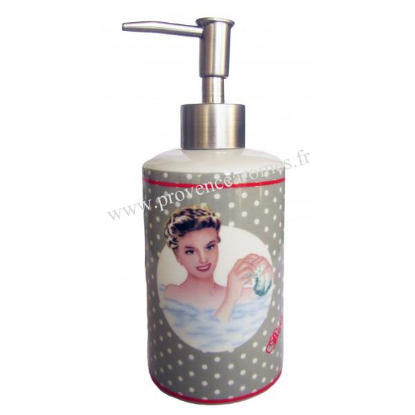 catalogue fr salle de bain  distributeur ceramique savon liquide deco retro vintage le