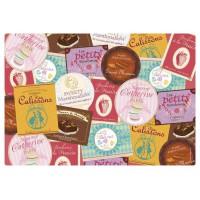 Set de table Étiquettes gourmandes collection Bonbons, chocolats et gourmandises
