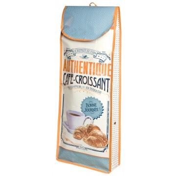 Sac à pain CAFÉ-CROISSANT Natives déco rétro vintage