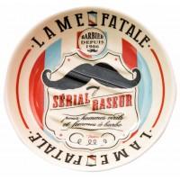 Porte savon BARBIER Natives déco rétro vintage humoristique