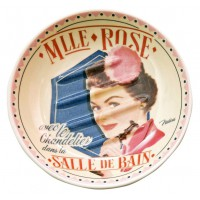 Porte savon MLLE ROSE Natives déco rétro vintage humoristique