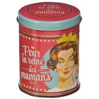 Bougie POUR LA REINE DES MAMANS Natives déco rétro vintage