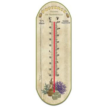 Thermomètre en verre déco Provençale PROVENCE SAVON DE MARSEILLE