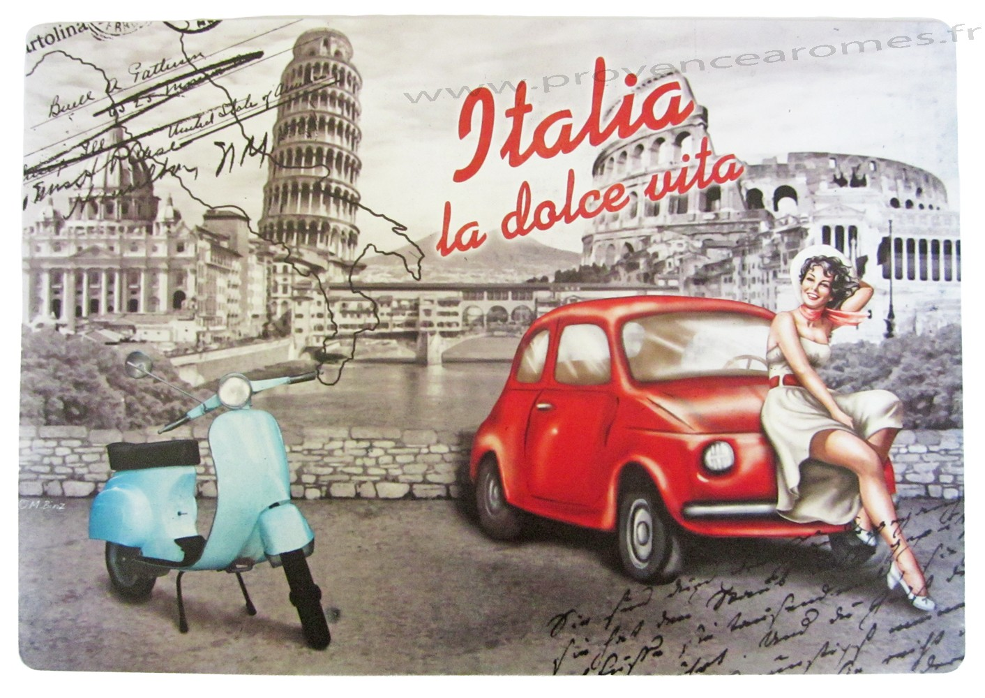Image gallery la dolce vita italia - Deco table retro ...