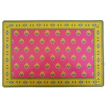 Set de table pvc style tissus proven ale authentique for Set de table en tissus