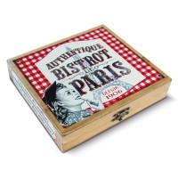 Coffret accessoires Vin BISTROT DE PARIS Natives déco rétro vintage